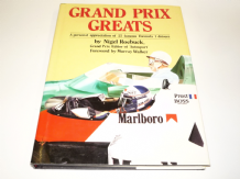 GRAND PRIX GREATS ( Nigel Roebuck 1986)